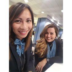 From fittwofly Dynamic duo #stewardesslife #cabincrewgirls #comissariadebordo #cabincrewlifestyle #airlines #crewlifestyle #crewfie #steward #airlinescrew #cabinattendant #airplane #layover #stewardess #aircrew #travel #crew #flight #aviation #airhostess #cabincrewlife
