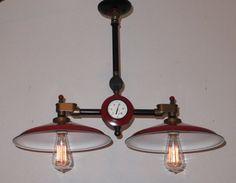 Steampunk Lamp Vintage industrial lighting by Steampunklights, $399.00