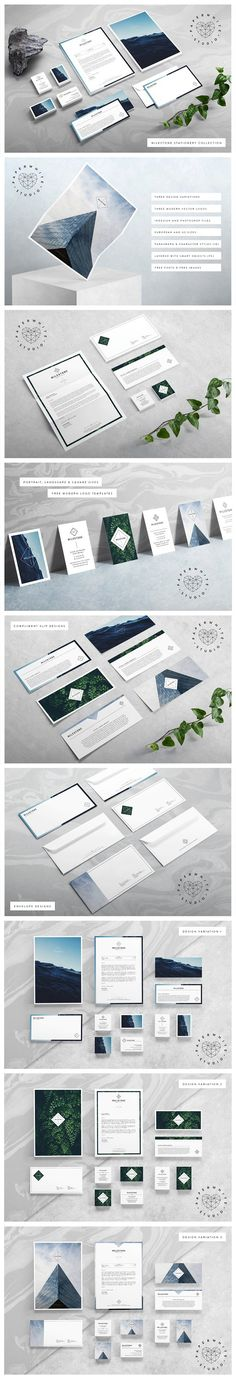 MILESTONE Stationery Collection by Paperwhite Studio on @creativemarket