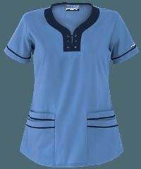 Resultado de imagen para de uniformes para enfermeras Nursing Tops, Nursing Clothes, Scrub Shoes, Medical Uniforms, Hospital Uniforms, Scrubs Uniform, Crochet Jacket, Swagg, Costume