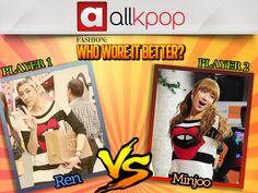 Who Wore it Better: Ren vs. Minjoo