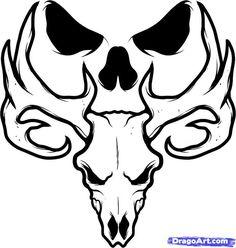 simple skull tattoos - Google Search | tats | Pinterest