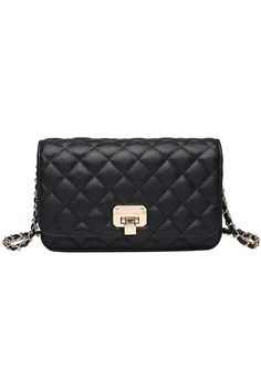 (This is an affiliate pin) Women Leather Shoulder Bag Fashion Clutch Handbag Quilted Designer Crossbody Bag with Chain Strap