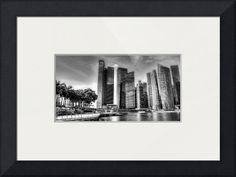 """""""City Skyline  Urban Landscape Singapore """" by Michelangelo Design And Co., Singapore // City Skyline - Urban Landscape Singapore 2013 // Imagekind.com -- Buy stunning fine art prints, framed prints and canvas prints directly from independent working artists and photographers."""