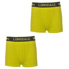 Lonsdale | Lonsdale 2 Pack Trunk Junior Boys | Kids Underwear