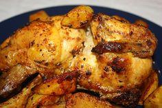 Pollo al forno speziato