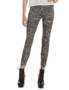 leopard print cotton legging