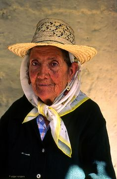 Abuela de Americo Moreno, San Rafael de Mucuchies, Merida, Venezuela