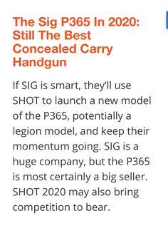 Best Concealed Carry, Men's Journal, Big Shot, Hand Guns, Product Launch, Firearms, Pistols