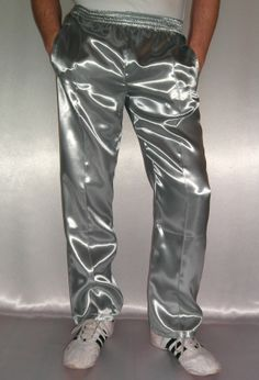 Check out our sports & fitness selection for the very best in unique or custom, handmade pieces from our shops. Mens Leather Pants, Long Leather Coat, Leather Jacket Outfits, Mens Velour Tracksuit, Latex Men, Gold Pants, Track Suit Men, Tracksuit Bottoms, Sport Fitness