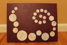 Toddler Scribbles into Fine Art. Now this is an awesome idea!