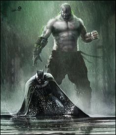 "The Batman Bane V The Bat Art Print gets it right while all the movies got it wrong. Bane made his first big screen appearance in ""Batman & Robin,"" with a"