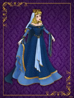 Queen Aurora Disney Queen Designer Collection Best of Disney Art by Disney Pixar, Disney Fan Art, Disney Animation, Disney And Dreamworks, Disney Characters, Aurora Disney, Disney Dream, Disney Style, Disney Love