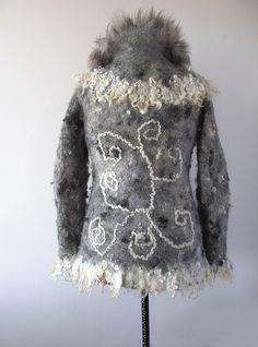 Felted jacket - Grey
