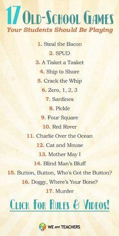 17 Old-School Games