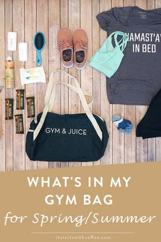 What's In My Gym Bag For Spring/Summer - It Starts With Coffee - A Lifestyle + Beauty Blog by Neely Moldovan