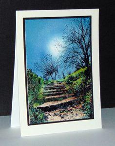 Terraced lane 40-448 de Penny Black par Micheline 'Mimi' Jourdain