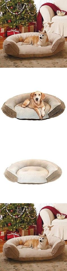 Animals Dog: Large Pet Dog Puppy Cat Bed House Nest Pad Cozy Warm Orthopedic Foam Cushion BUY IT NOW ONLY: $89.99