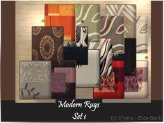 http://sims2graveyard.com/index.php/downloads/finish/2962-decor/52481-37sims-modern-rug-set-1