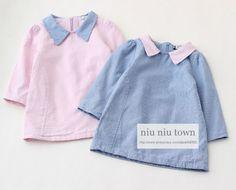 00017 TJ-6J1911 Free shipping 5 pcs/lot Wholesale Color lapel straight Wawa Shan girls Qunshan http://www.aliexpress.com/store/1047972