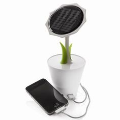 This is the coolest looking solar charger