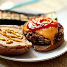 Very Veggie Burgers | a full measure of happiness. These look scrumptious. Love the nuts
