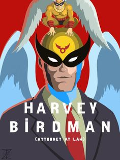 Another Movie / Show mashup! This one between Harvey Birdman: Attorney at Law and the recent Film BiRDMAN staring Michael Keaton. Had fun coming up with this concept and I hope you enjoy it as much...