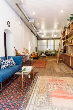 This shoppable living room in New York's West Village is like stepping into a globe-trotting friend's home.