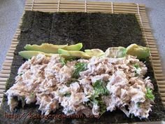 Keto sushi (going to add cauliflower rice)