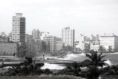 <Malecón habanero> El viento es un caballo: óyelo cómo corre por el mar, por el cielo/ Quiere llevarme: escucha cómo recorre el mundo para llevarme lejos. [...] (P.Neruda)