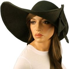 "50+ UPF Beach Summer Flip Up Down Velcro Wide 6"" Brim Floppy Sun Hat Cap Black SK Hat shop, http://www.amazon.com/dp/B007K3CGNE/ref=cm_sw_r_pi_dp_6U0Kpb0YJD9N0"