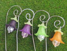 Miniature fairy garden accessories Fairy lanterns by PerfectPosies
