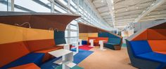 Departures terminal of the Henri Coanda International Airport in Romania designed by NUCA Studio