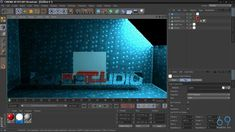 Cinema 4D: Lighting Studio Tutorial
