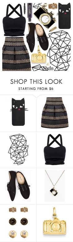 """Cameras"" by pastelneon ❤ liked on Polyvore featuring Wet Seal, Accessorize, Kevin Jewelers, tarte and vintage"