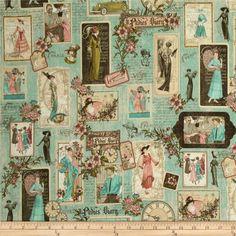 DIY: Scrapbook+Graphic 45 ~Pin via Dromenvangers-Winkeltje: Ladies' Diary~ Papel Vintage, Decoupage Vintage, Decoupage Paper, Vintage Paper, Vintage Sewing, Graphic 45, Scrapbook Paper, Scrapbooking, Craft Images