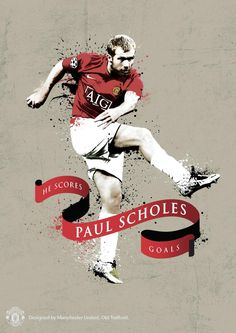 Happy birthday to our Ginger Prince, sat nav passer, Paul Scholes ! Manchester United Wallpaper, Manchester United Legends, Manchester United Football, Barcelona Soccer, Fc Barcelona, Cristiano Ronaldo Lionel Messi, Soccer Poster, Soccer Girl Problems, Best Football Team