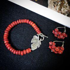 Coral Earrings, Bracelets, Jewelry, Fashion, Moda, Jewlery, Bijoux, La Mode, Jewerly