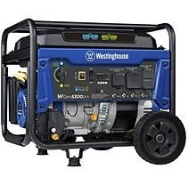 Westinghouse Watt Gas Powered Portable Generator with RV and Transfer Switch Ready Outlets for Home Backup Dual Fuel Generator, Gas Powered Generator, Portable Generator, Power Generator, Transfer Switch, Scheduled Maintenance, Travel Necessities, Sump Pump, Electronic Recycling