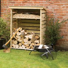 Buy Rowlinson Log Store, Natural Timber securely online today at a great price. Rowlinson Log Store, Natural Timber available today at Fireplace And Stove. Hanging Basket Brackets, Hanging Baskets, Outdoor Wood Burner, Timber Logs, Bin Store, Licht Box, Garden Storage Shed, Storage Sheds, Storage Rack