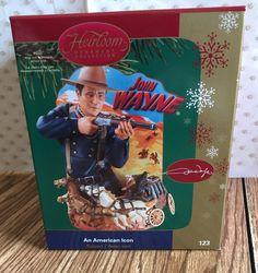 2006 Carlton Cards John Wayne An American Icon Ornament W/ Sound MIB  | eBay