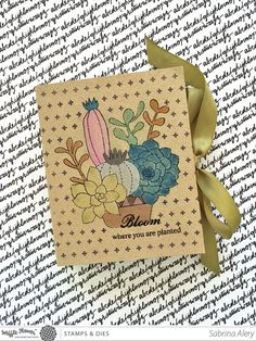 Garden Journal Tutorial - The Honor Roll Bookbinding Tutorial, Garden Journal, Honor Roll, Album Book, Love Craft, To Color, Digital Stamps, Mini Books, Flower Crafts