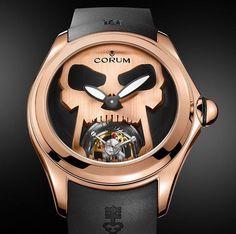 Cadeaux Jewelry @CadeauxJewelry #CORUM #Bubble Tourbillon Dark Allure. Contact #CADEAUXJEWELRY at Gaysorn Bangkok