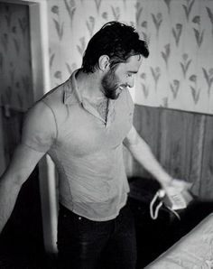 Photo of Hugh Jackman for fans of Hugh Jackman 295486 Hugh Jackman, Hugh Michael Jackman, Hugh Wolverine, The Greatest Showman, Hot Hunks, Sharp Dressed Man, Male Physique, Marvel Movies, Perfect Man