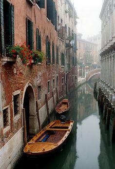 Venice-my favorite European city.