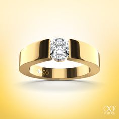 "Perfect for summer. ""Larentia"" diamond ring in gold #yorxs #diamantring #diamant #gold"