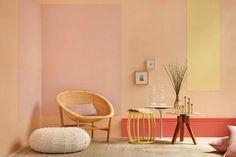Tendência Magnético - A cor do ano da Suvinil e as tendências de cores 2018 Hanging Chair, Accent Chairs, Interior Design, Furniture, Home Decor, Blog, Rainbow, Marketing, Good Ideas