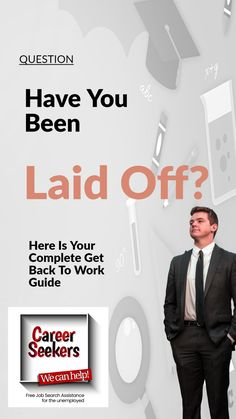 Have you been laid off of a job? This pin includes tips for how to deal with a recent layoff and how to improve your chances of getting back to work. #jobhunting #career #layoff Job Hunting Tips, Get Back To Work, Best Careers, Job Search, Resume, Improve Yourself, Lettering, Drawing Letters, Cv Design