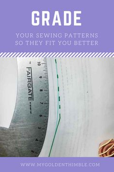 Grading Altering Sewing Patterns