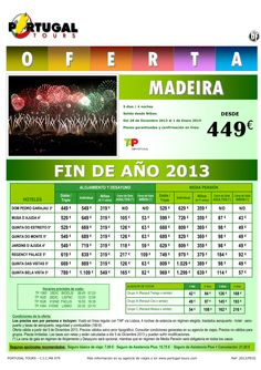 MADEIRA Fin de Año del 28 de diciembre al 01 de enero desde Bilbao a partir de 449 € ultimo minuto - http://zocotours.com/madeira-fin-de-ano-del-28-de-diciembre-al-01-de-enero-desde-bilbao-a-partir-de-449-e-ultimo-minuto/